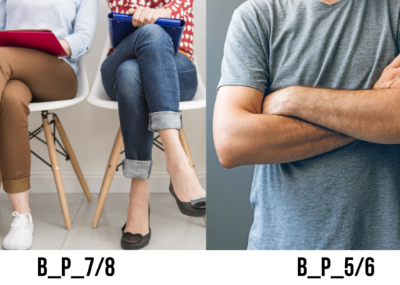 Le croisement des bras et des jambes  –  B_P_5/6 et B_P_7/8